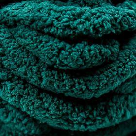 Пряжа фантазийная 100 полиэстер 'Softy plush maxi' 250 гр 22 м пихтовый зелёный - фото 3