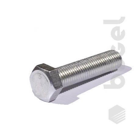 Болт DIN933 кл. пр. 8.8 покрытие цинк М24*80