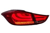 Светодиодные фонари в стиле BMW на Hyundai Elantra/Avante 2011-2015 г.