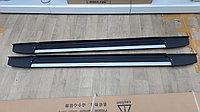 Подножки (Пороги) DZN на Toyota Highlander 2008-2013