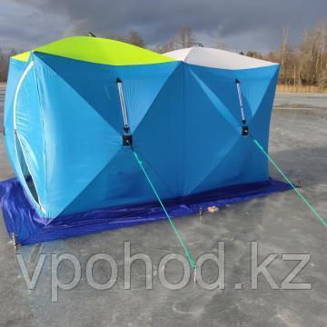 Палатка для зимней рыбалки СТЭК куб  Дубль
