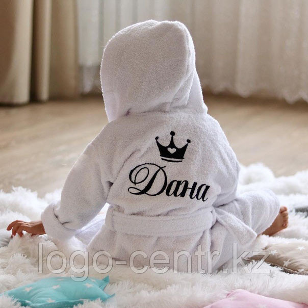 Вышивка на детских халатах