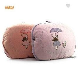 Подушка (40 см) одеяло (110*130см) зонтик