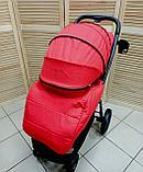 Коляска прогулочная Indigo Jessy L (Sheron), красный, фото 5
