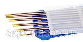 Вольфрамовый электрод WL15 2.4х175 золотой (ABICOR BINZEL®)