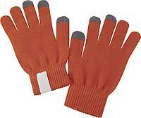Сенсорные перчатки Scroll, оранжевые, фото 1
