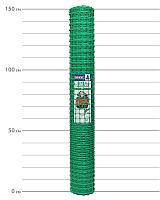 Садовая решетка (пластиковая зеленая сетка) ЗР-15/1,5/20. Высота рулона 1.5 м
