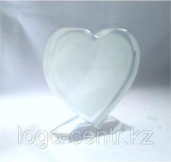 Фото кристалл в виде сердце