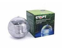 """Плавающий садовый светильник на солнечной батарее в виде шара - """" Старт """""""