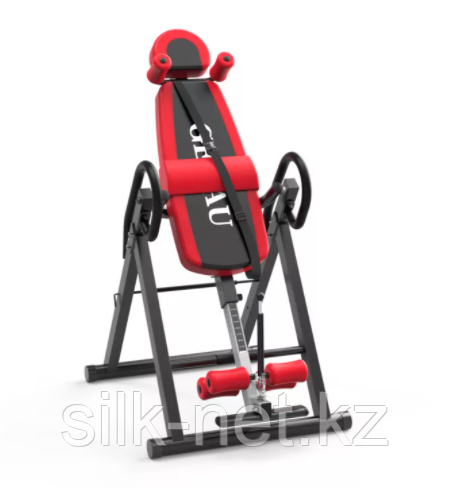 Инверсионный стол Genau FitSpine EA-350 Red