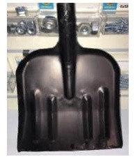 Лопата уборочная (стальная Шахтерка б/ч 320*350мм )