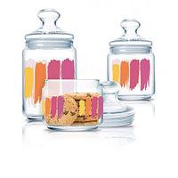 Набор банок для сыпучих 3 пр Luminarc Paint Brush