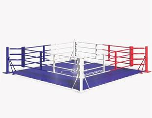 Ринг боксерский 4 х 4 м на упорах