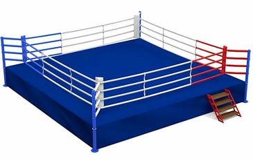 Ринг боксерский 6,1 х 6,1 м с помостом 7,8 х 7,8 х 1м AIBA стандарт