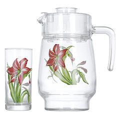 Наборы для напитков Luminarc Amsterdam Iris 1.6 л / 0.27 л (N0955)