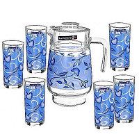 Набор кувшин + стаканы Luminarc Plenitude Blue N3932