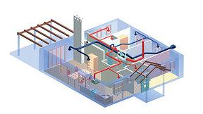 Проектирование, поставка и монтаж систем отопления, вентиляции и кондиционирования