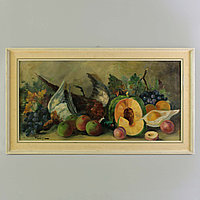 «Натюрморт с фруктами и дичью» Автор: Jean Jagues Foulon(1923-1980)