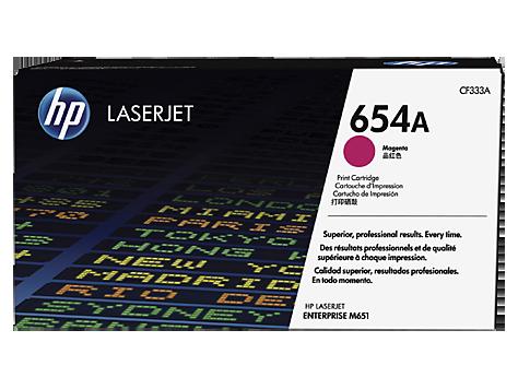 HP CF333A Картридж лазерный HP 654A пурпурный, ресурс 15000 стр
