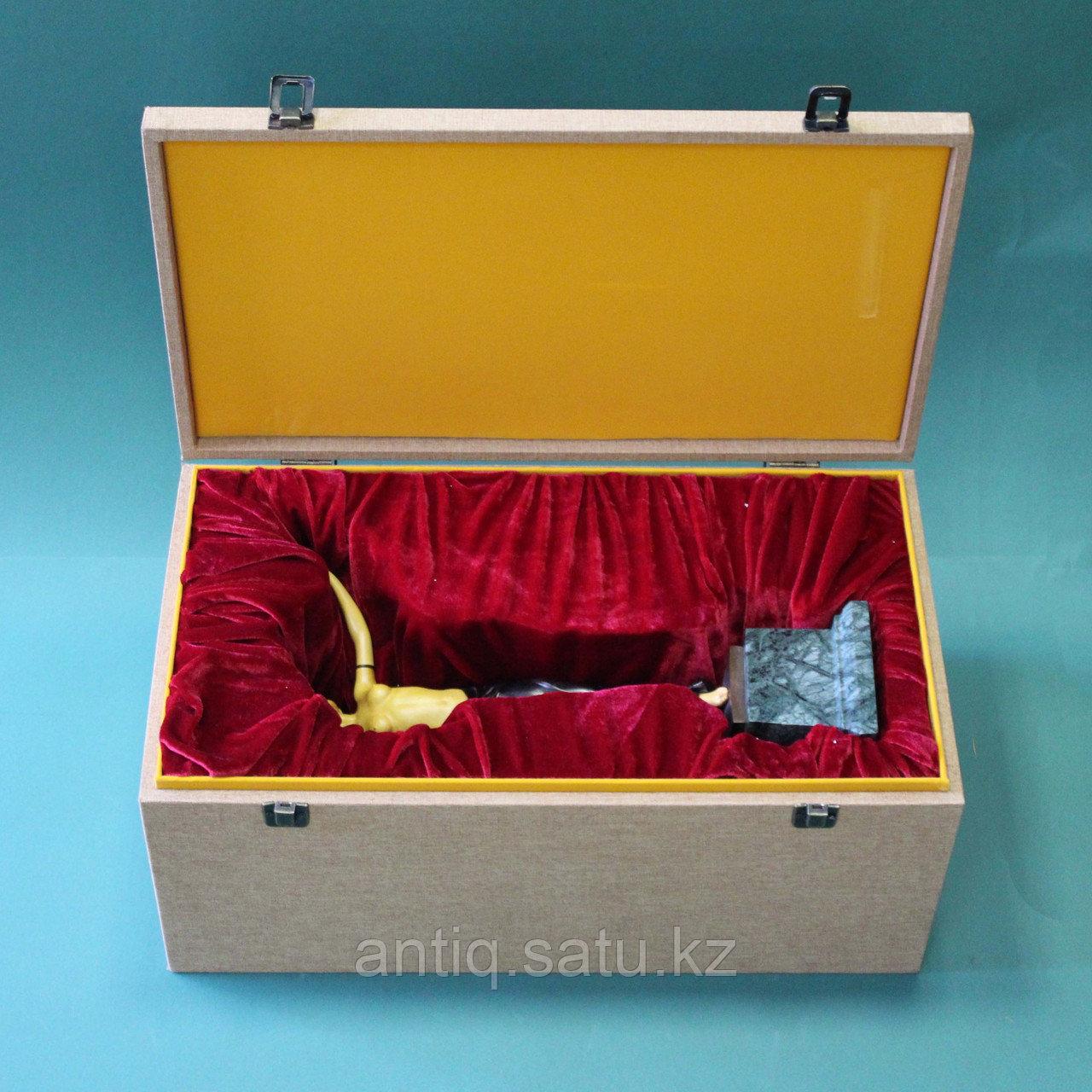 Танцовщица. По модели всемирно известного французского скульптора Ferdinand Preiss (1882-1943) - фото 2