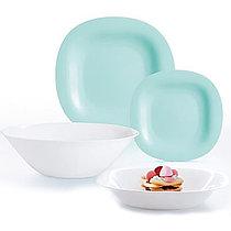 Столовый сервиз Luminarc Carine White&Turquoise 19 предметов на 6 персон