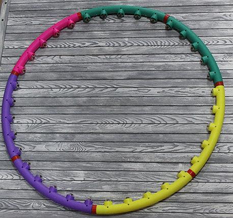 Обруч Hula hoop массажный, фото 2