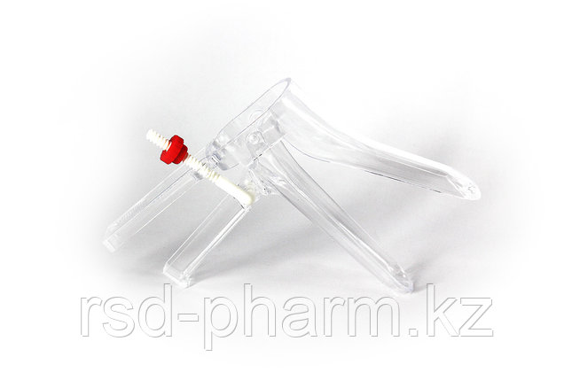 Зеркало гинекологическое Вiospec® Budget размер L одноразовое стерильное с фиксатором, фото 2