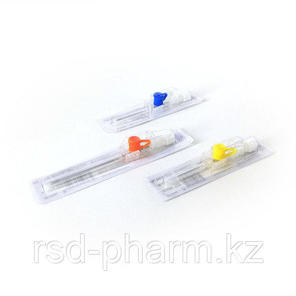 Катетер/канюля внутривенный периферический Bioflokage Budget c инъекционным клапаном р.20G