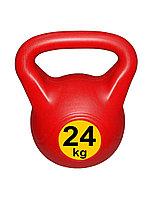 Гиря 24 кг Пластик Россия