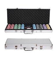 Покер в кейсе, 500 фишек без номинала., фото 1