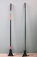 Ледоруб скребок металлический, с пластмассовой ручкой