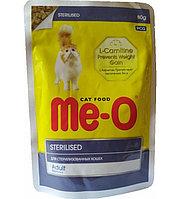 Паучи для стерилизованных кошек и кастрированных котов, 80 г Ме-О