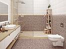 Кафель | Плитка настенная 20х44 Хаммам | Hammam коричневый рельеф, фото 2