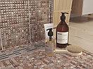 Кафель | Плитка настенная 20х44 Хаммам | Hammam коричневый рельеф, фото 4