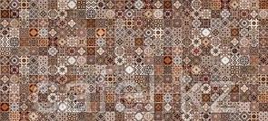 Кафель | Плитка настенная 20х44 Хаммам | Hammam коричневый рельеф
