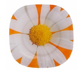 Десертная тарелка карин ромашка мелон 19 см
