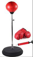 Набор бокс детский (груша+перчатки) выс 146х126см
