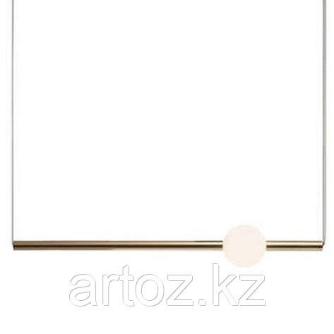 Светильник подвесной ORION TUBE Horizontal (gold), фото 2