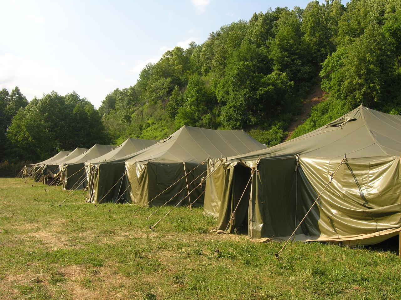 Палатка армейская военная из материала Оксфорд до 15 чел.+Доставка бесплатная! - фото 1
