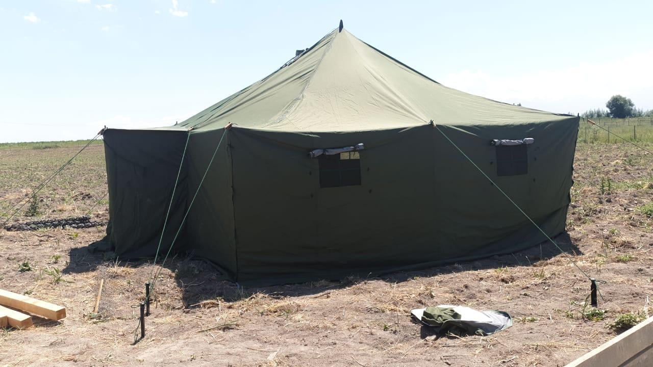 Палатка армейская военная из материала Оксфорд до 15 чел.+Доставка бесплатная! - фото 10
