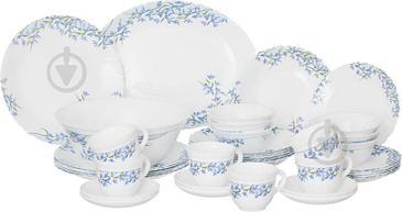 Сервиз столовый Aliya Blue 38 предметов на 6 персон L7796 Arcopal
