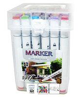 Маркер ART DRAW DESIGN 2588-36, 36 цветов