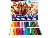 """Пластилин восковой 18цв """"Фантазия"""" Луч"""