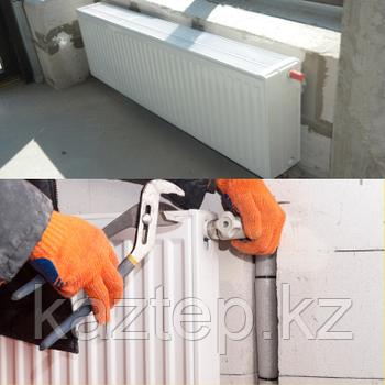 Установка приборов отопления (радиаторы, конвекторы)