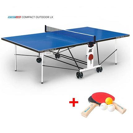 Теннисный стол Compact Outdoor 2LX c сеткой, фото 2