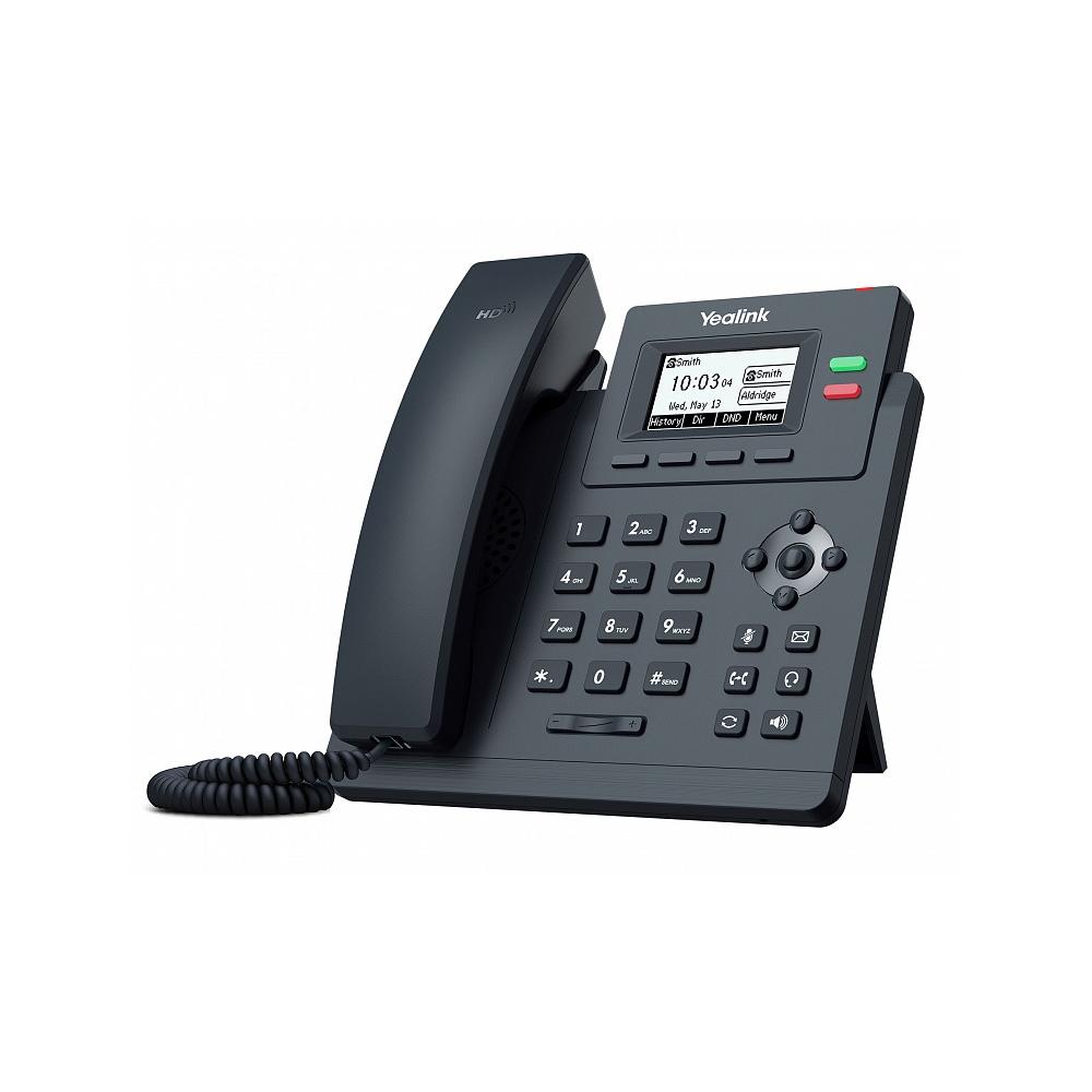 IP телефон Yealink SIP-T31P без БП
