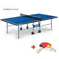 Теннисный стол Game Indoor - любительский стол для использования в помещениях с сеткой