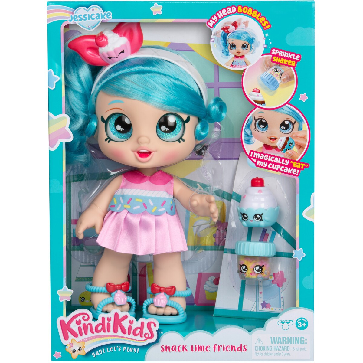 Кинди Кидс 38393 Кукла Джессикейк 25см. с акс. ТМ Kindi Kids