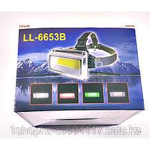 Фонарь налобный LL-6653B, фото 2