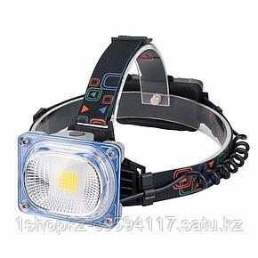 Налобный фонарь W-606 (трехцветный), фото 2